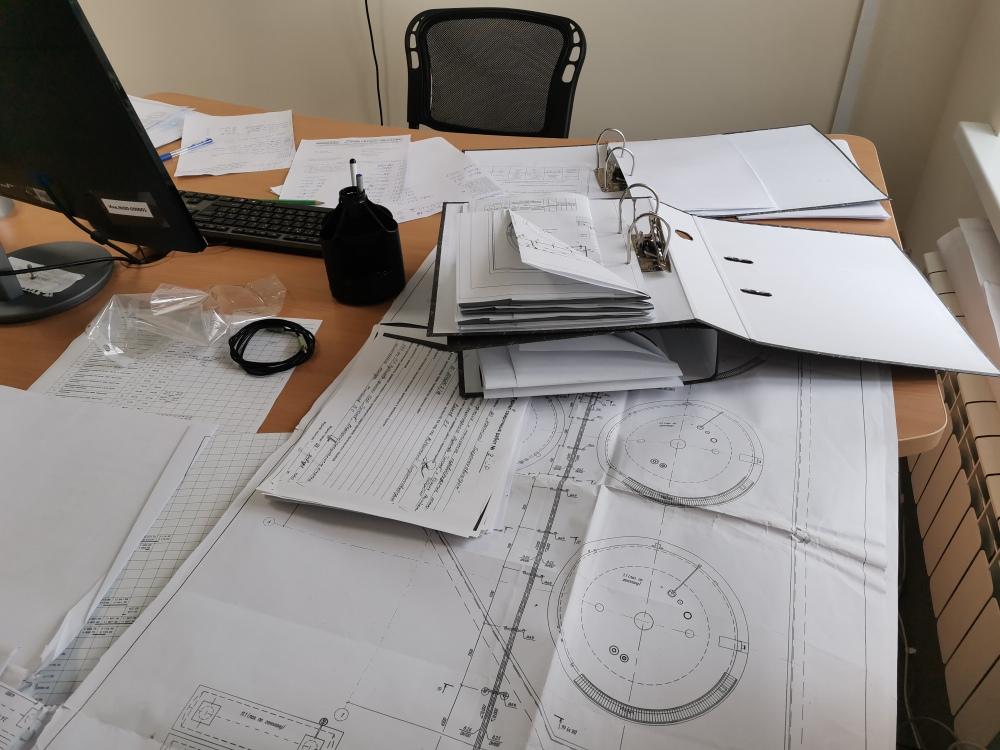 Процесс составления исполнительной документации